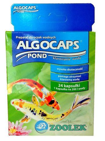 Zoolek Algocaps Pond 24 kaps. - preparat zapewniający czystą wodę