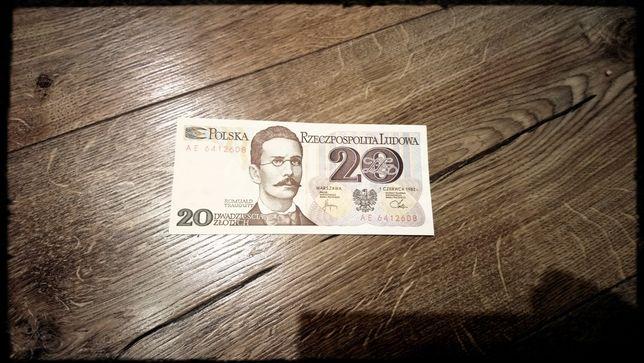 20zł banknot PRL