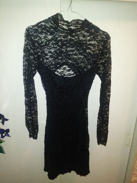 Seksowna sukienkaz koronki