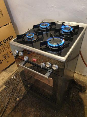 Kuchenka gazowa z piekarnikiem elektrycznym termoobieg 100%sprawna
