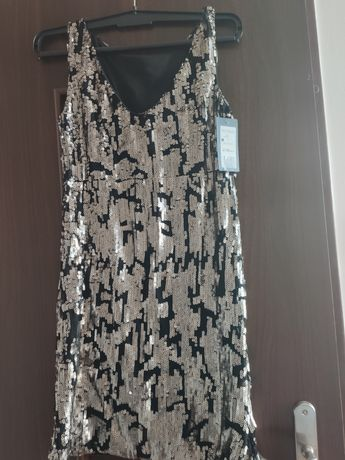 Reserved sukienka damska cekiny rozmiar S