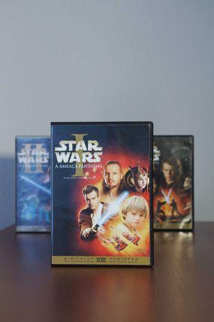 Star Wars I, II, II (1, 2, 3) DVD