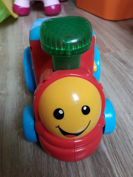 Traktor Fisher Price interaktywny
