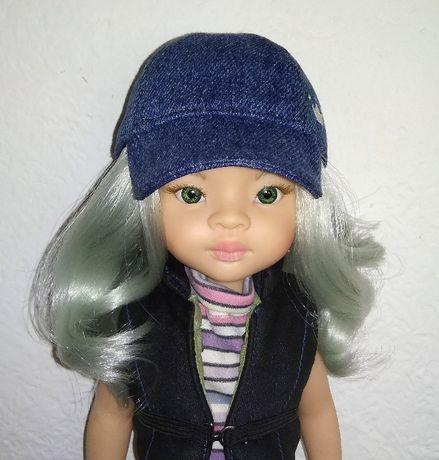 Одежда бейсболки, кепка для кукол Паола Рейна, бжд