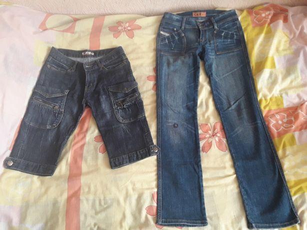 Джинси, штани жіночі 27 розмір