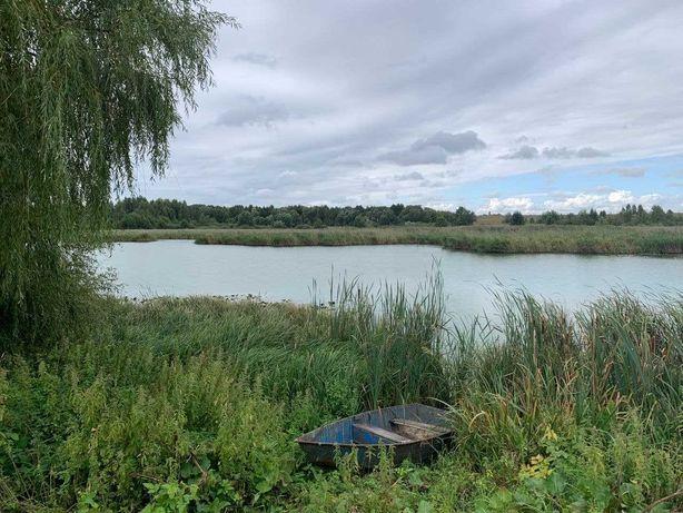 Продам живописный участок 20 сот с выходом к реке Фастовский р-н