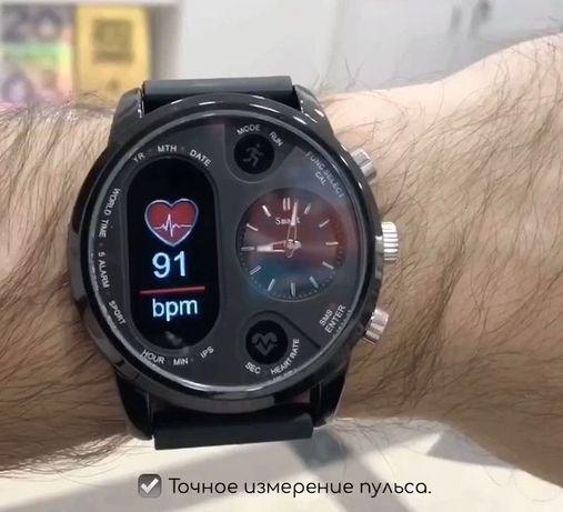 Стильные Smart Watch Max Robotics Hybrid Sporttech ZX-01 Смарт часы
