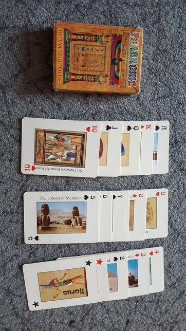Карты игральные египет