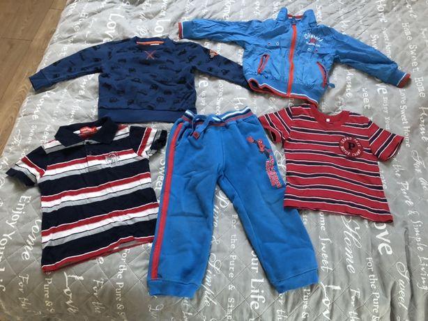 Zestaw ubrań dla chłopca r. 104 F&F spiderman kurtka