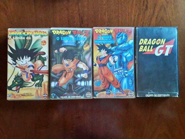 VHS Dragon Ball / Z / GT