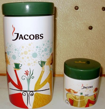 Набор керамических емкостей Jacobs Якобс