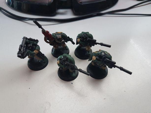 5x Scout Snipers SM Dark Angels Warhammer 40k