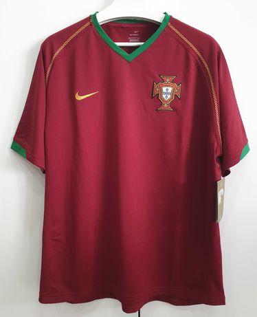 Camisola Seleção Nacional – Portugal 2006-08 – Tamanho L