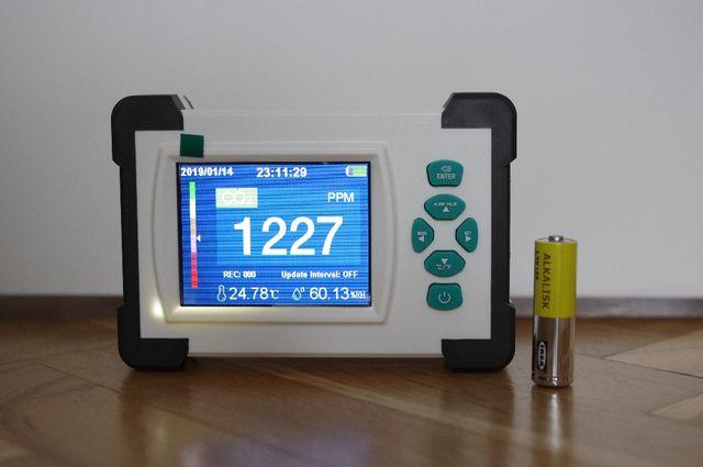 Analizator stężenia dwutlenku węgla / CO2