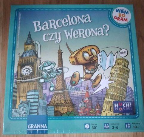 NOWA gra edukacyjna Barcelona czy Werona?