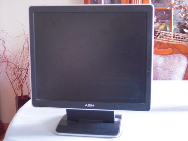 Monitor LCD 17 cali AGM z głośnikami