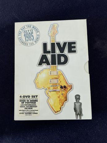 Live Aid - 4 DVD Set