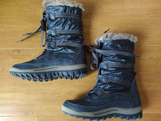 Чоботи зима, зимові черевики, дутики