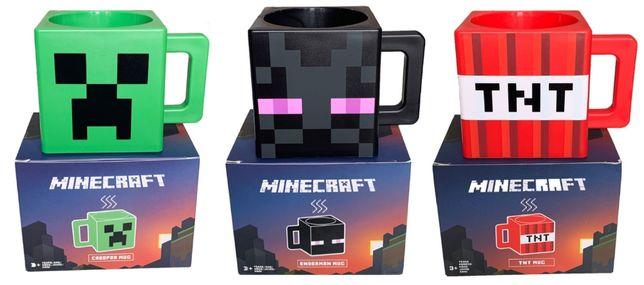 Кружка-чашка из игры майнкрафт MOJANG minecraft -подарок ребенку!