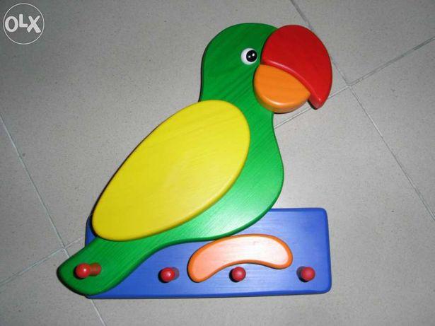 Papagaio bengaleiro de parede