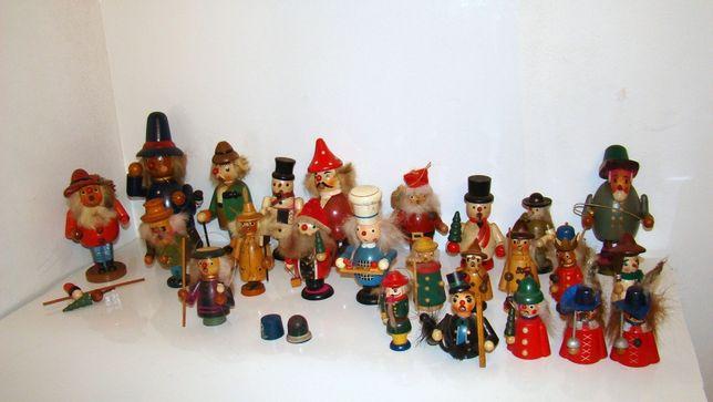 Drewniane Fajki Figurki Zapachowe Drewno Boże Narodzenie