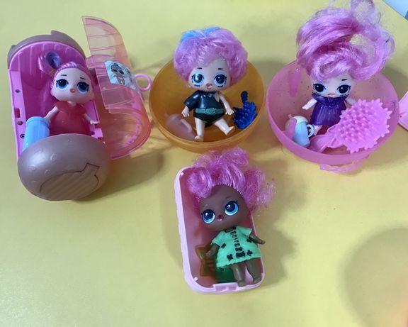 Куколки лол с волосами