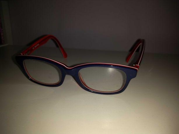 Hayne oprawki okulary białe czerwone granatowe 6,7 lat jak nowe