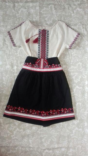 Костюм платье юбка вышиванка 2-10 лет