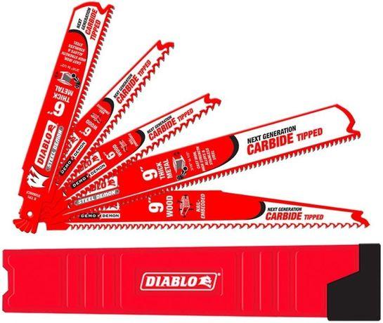 Набор полотен Diablo Carbide DS005SC для сабельная пила Dewalt Milwau