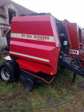 Prasa zwijająca Rivierre RV 156L, Vicon