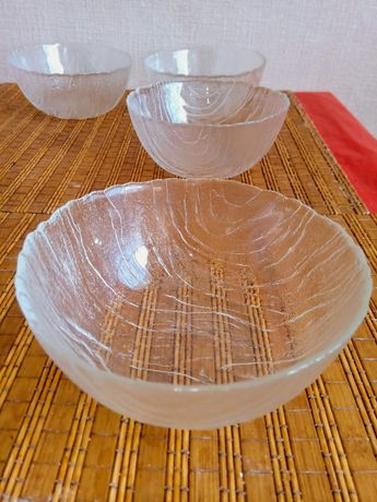 Скляні салатниці (4шт)