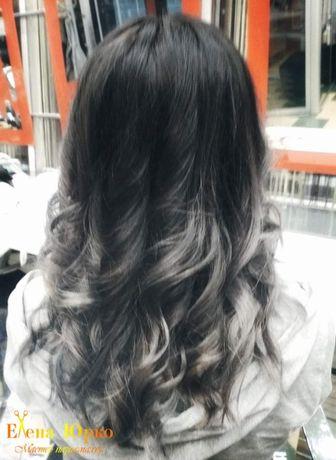 Окрашивания волос омбре балаяж мелирование колорирование парикмахер