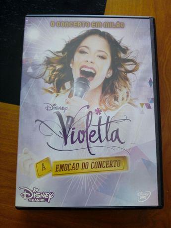 Violeta - A emoção do concerto