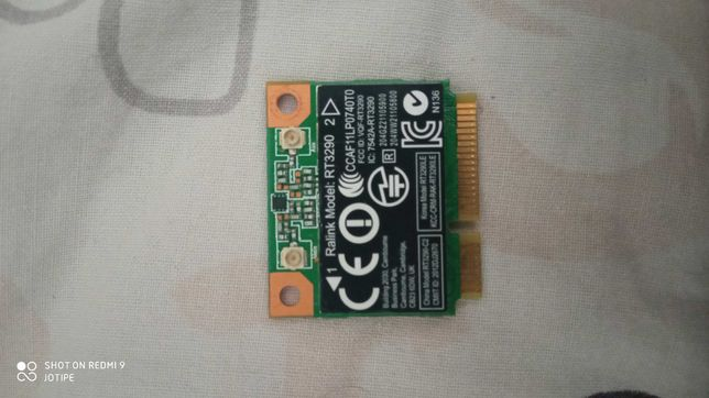Karta WiFI Ralink Model RT 3290 (LAPTOP)