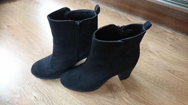 Botki buty damskie jesienne czarne 40 primark