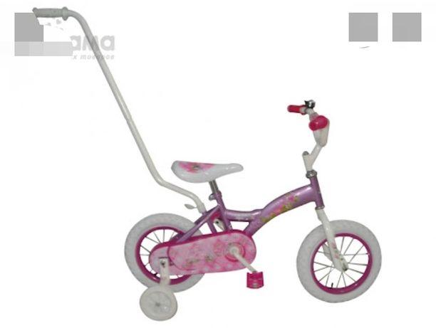 велосипед детский 3 - 5 лет съемная родительская ручка двухколесный