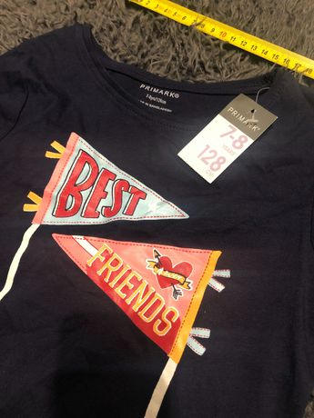 Koszulka na długi rękaw Primark 128 cm
