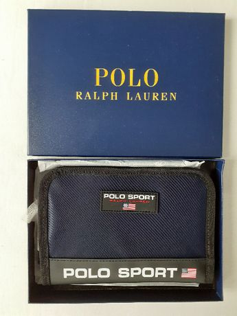 Portfel Polo Ralph Lauren z metkami oryginalny + pudełko