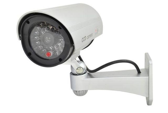 Atrapa kamery IR CCD kamera na działke