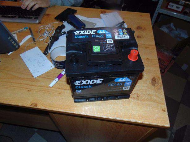Akumulator Exide EC440 12V 44Ah 360A Tanio Wymiana Kraków CC440