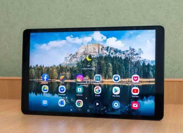Планшет-телефон Samsung Tab 10, Android 10, Яркие оттенки