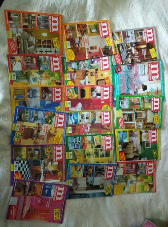 Gazety,gazetki m jak mieszkanie 17 sztuk