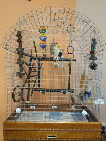 Виготовлення кліток та ігрових стендів для птахів під замовлення