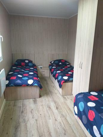 Niezależny Domek 5 osobowy, 2 pokoje, kuchnia, łazienka, pralnia
