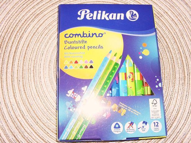 sliczne nowe kredki Pelikan dla dzieci