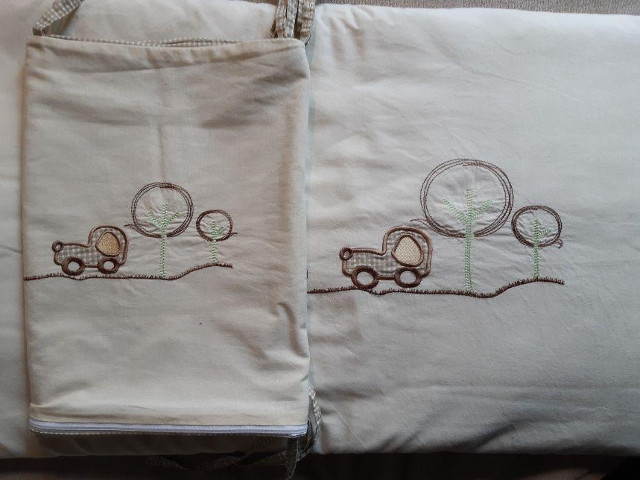 Poszewka na kołderkę oraz zasłonka na łóżeczko! Zielona Góra - image 1