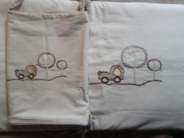 Poszewka na kołderkę oraz zasłonka na łóżeczko!
