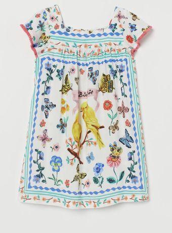 Платье h&m nathalie lete dress 3-4 р