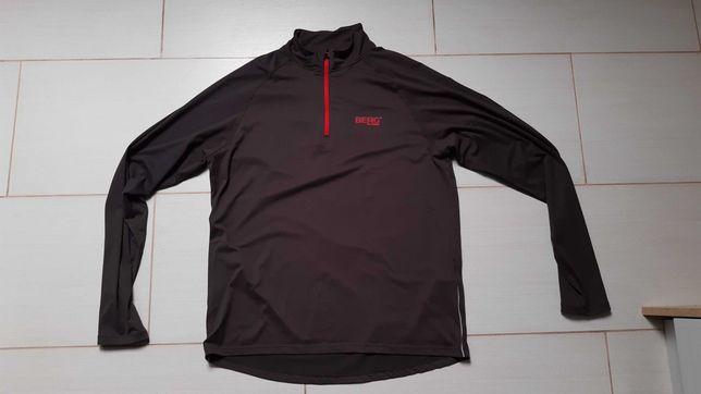BERG OUTDOOR bluza biegowa XL Termoaktywna trekking bieganie