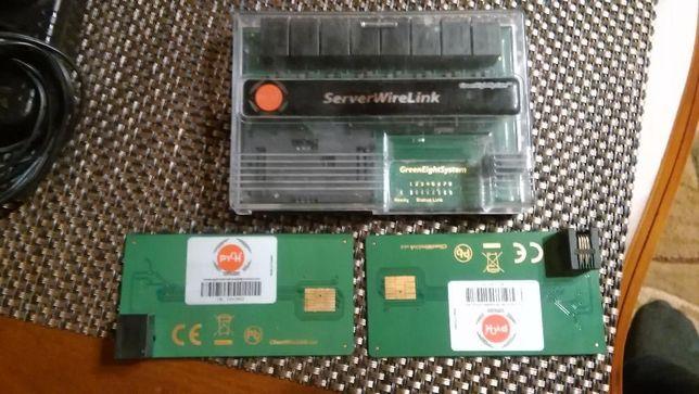 Serwer server wire link dekoder karta karty splitter